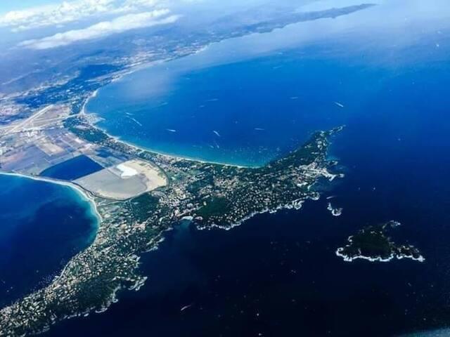Presqu'île de giens ! Vacances idéales ! 35 m2