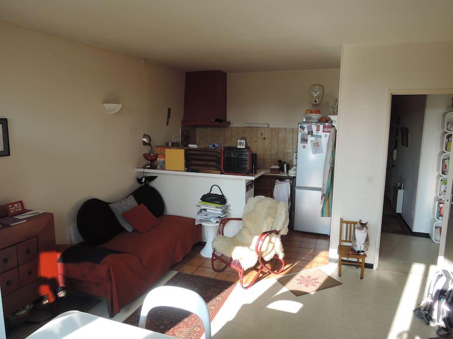 Charmant t2 hyper centre metz appartements louer for Location t2 bordeaux hyper centre