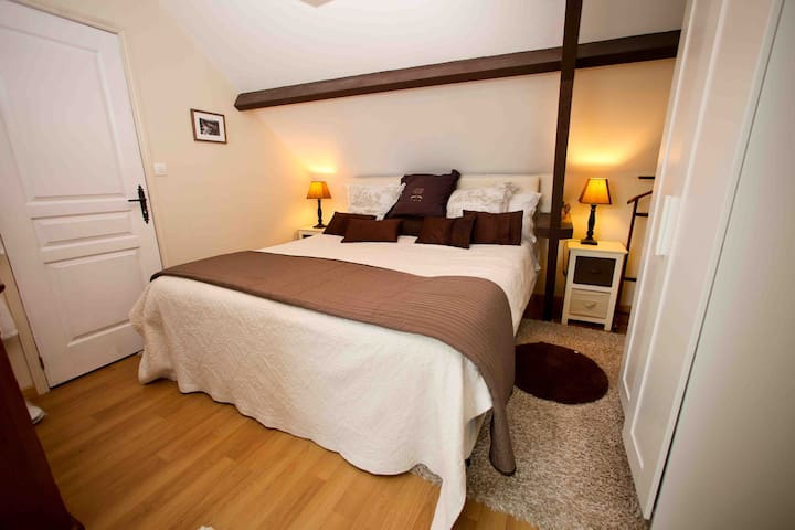 Look couples only 3* barn apartment - Houesville - Apartamento