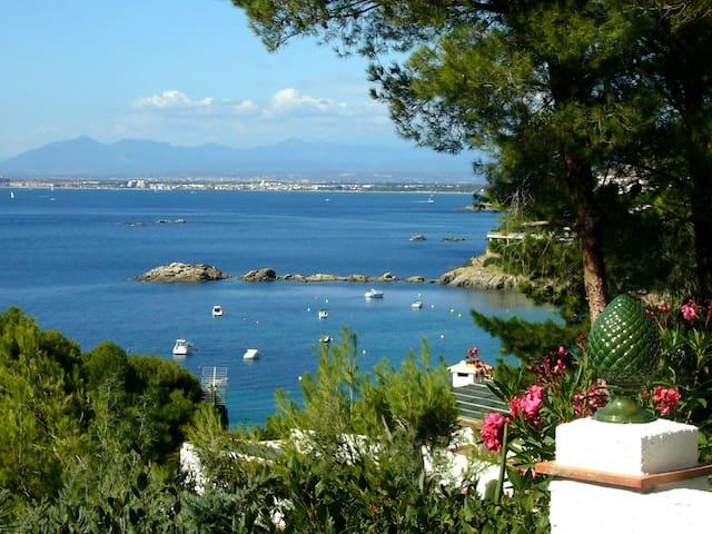 Maison  vue mer 250 m de la plage - Roses - Rumah