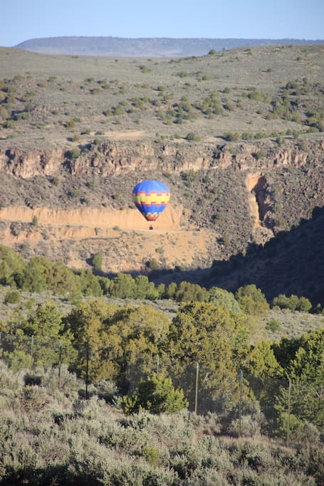 View of Rio Grande Gorge from Living Room