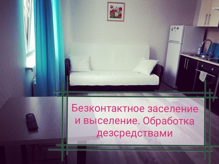 Отдельная квартира-студия у метро Котельники