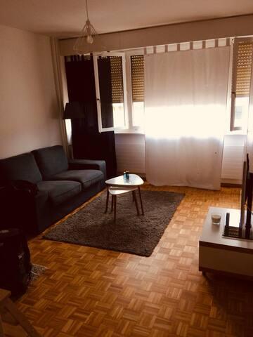 Charmant studio au coeur des Eaux-Vives