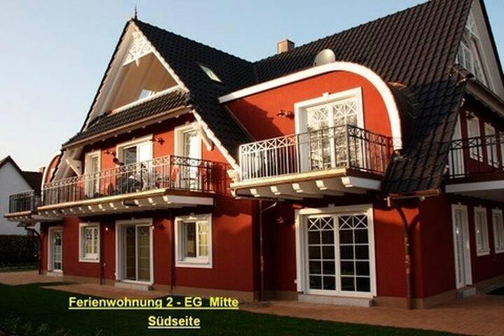 Villa Sola Bona, FW 2 - Zingst - Wohnung
