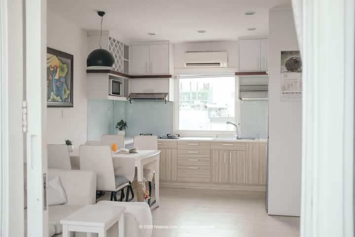 ☀ Korean city 2br LOFT @ heart of Sai Gon ☀