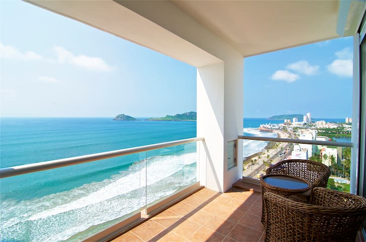 Horizon Sky Jr. Penthouse 15th floor - Mazatlán - Wohnung