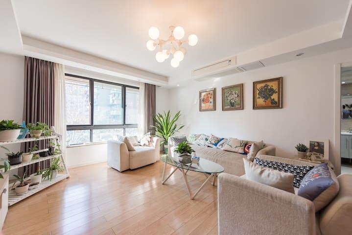 160平市中心地铁口精装美屋毗邻河坊街西湖和火车站 - Hangzhou - Apartamento