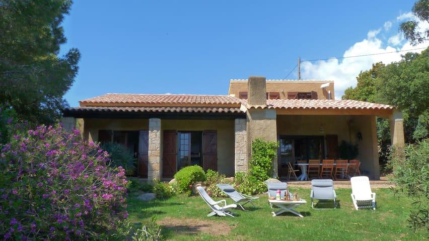 Maison Gîte de France 3*, 200m à pied de la mer - Pianottoli-Caldarello - Hus