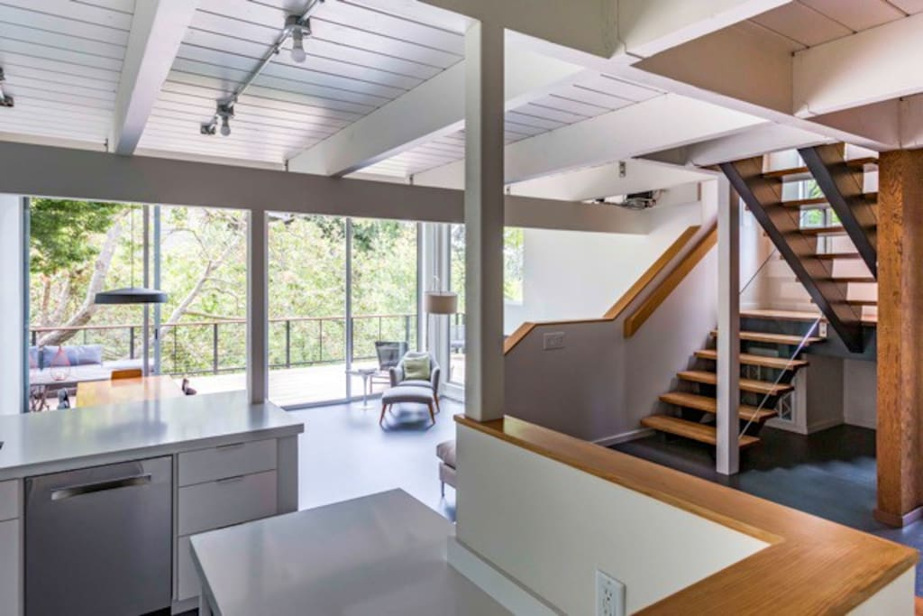 Wide open, bright and airy space