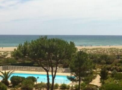 T2 vue sur Mer + piscine - Leucate - Apartment