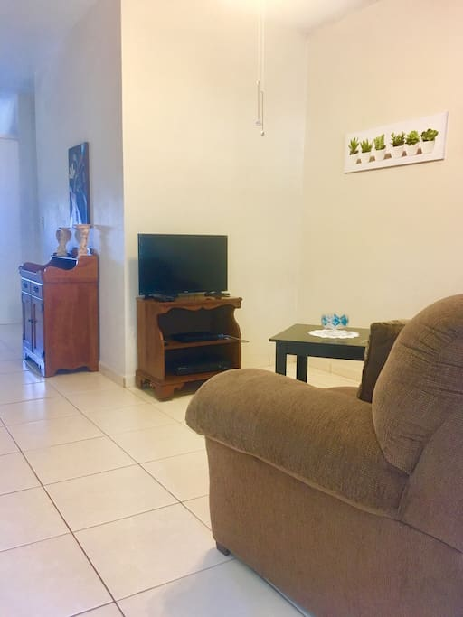Living Room Seaman's Couch- Aguadilla Vacation Rental Las Delicias