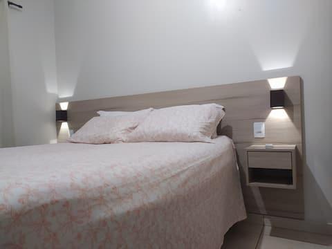 Casa segura, completa e confortável com 2/4.