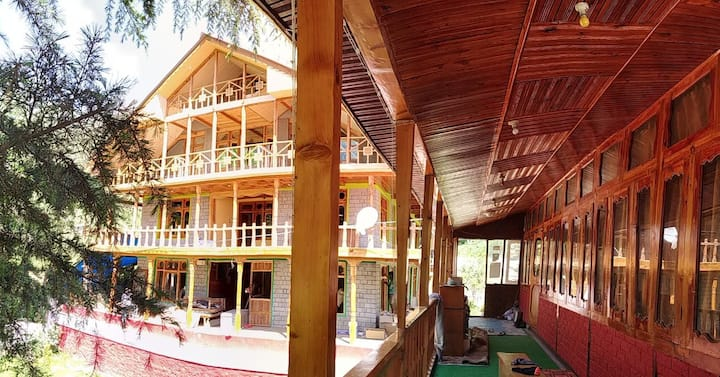 Stay for 2 in a Nature Lodge first floor