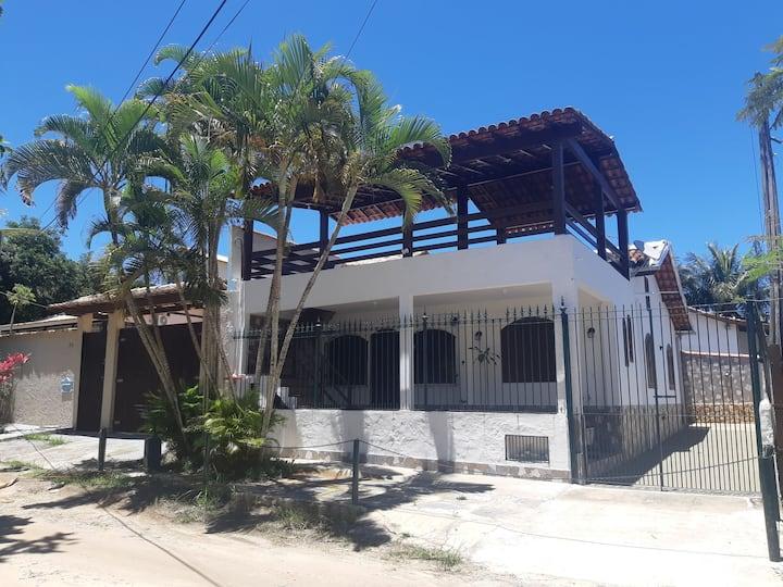 Casa aconchegante a 400mt da praia/lagoa