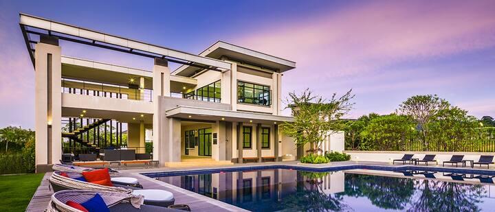 5***** phuket 3 bedroom house  near patong