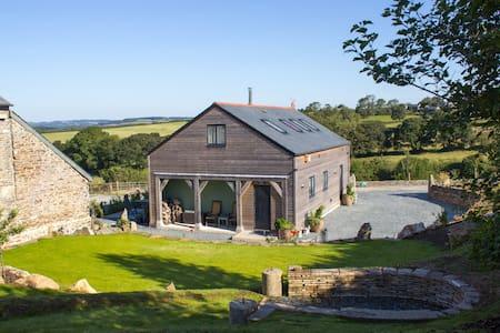 New high spec  wood framed house - fantastic views