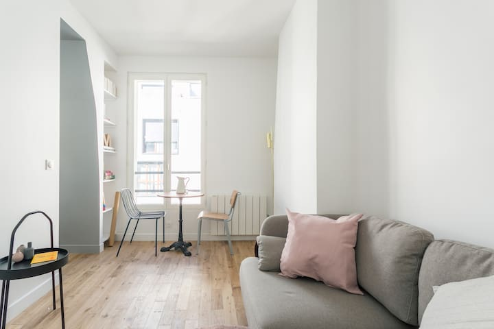 Cozy Flat at the foot of Square Sainte-Marguerite