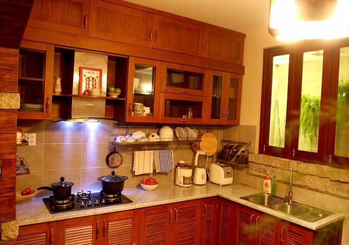 Private rooftop room- shared kitchen- Go Vap Dist