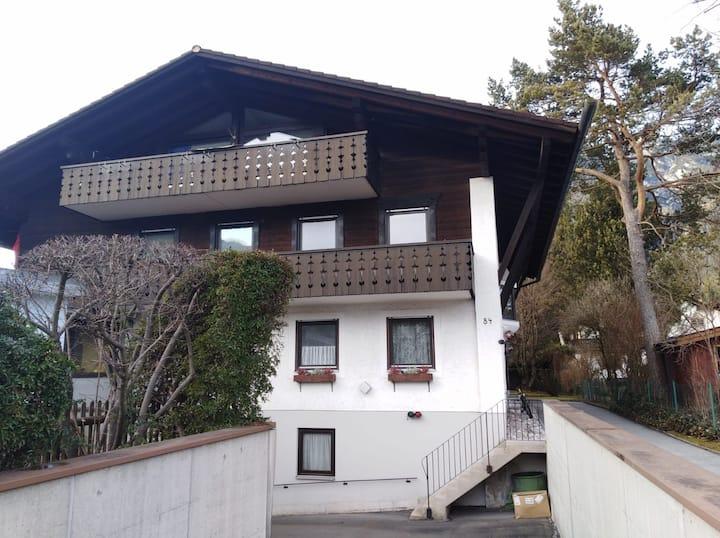 Saubere, helle 73qm große Wohnung mit Bergblick