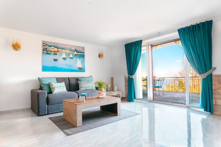 Villa Rossella Sorrento with amazing sea view