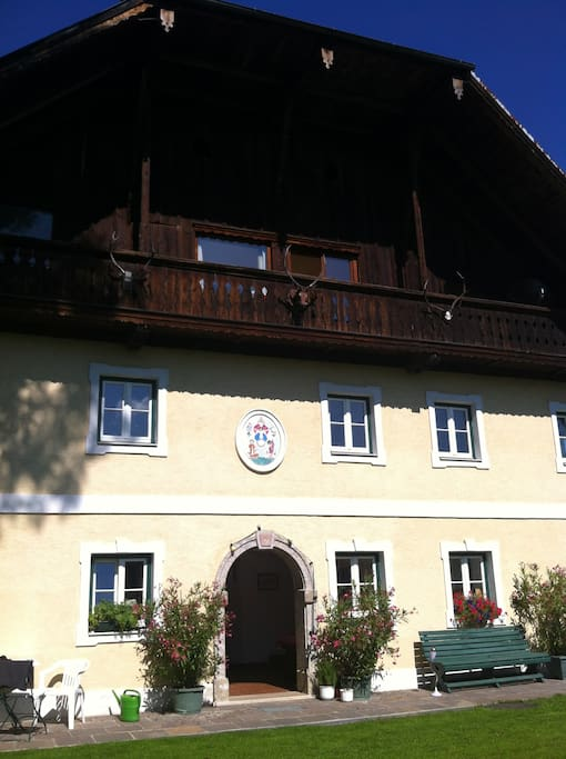 450 year old mill house situated in the charming countryside of Salzburg