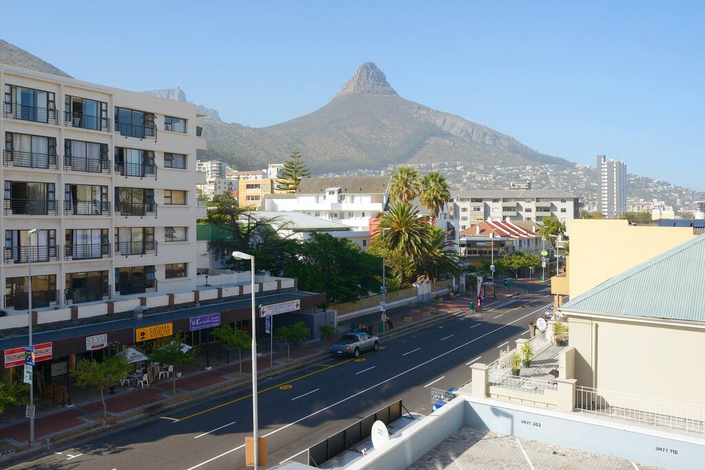 View of Lionshead and a little bit of Table Mountain.