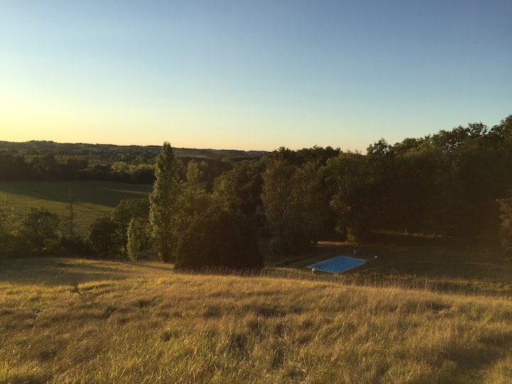 Large gascony property with swimming pool - Gers