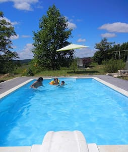 Magical Place To Be! Heated pool. - Sainte-Eulalie-d'Ans