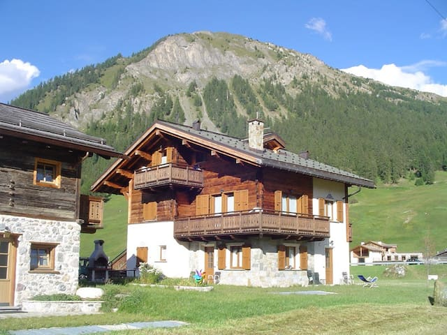 Charming apartment in Livigno - Livigno - Apartamento