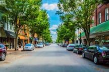 Historic downtown New Bern.