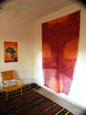 Ventilated double room - Bobo-Dioulasso