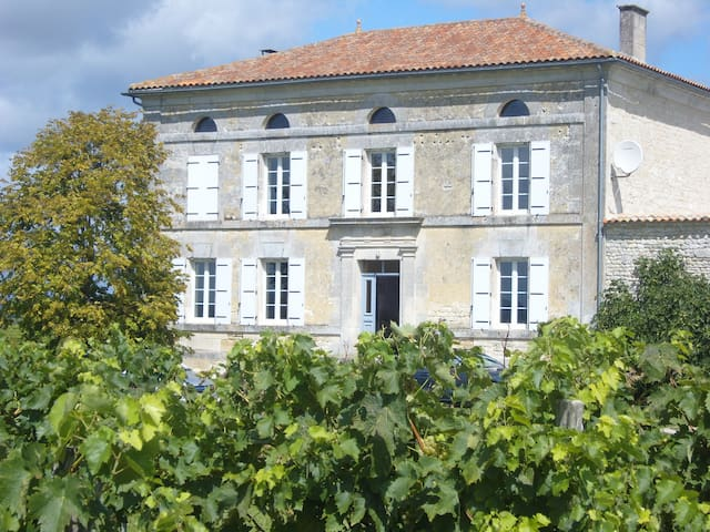 Les Claveaux-  Majestic Maison de Maitre - Moulidars - House
