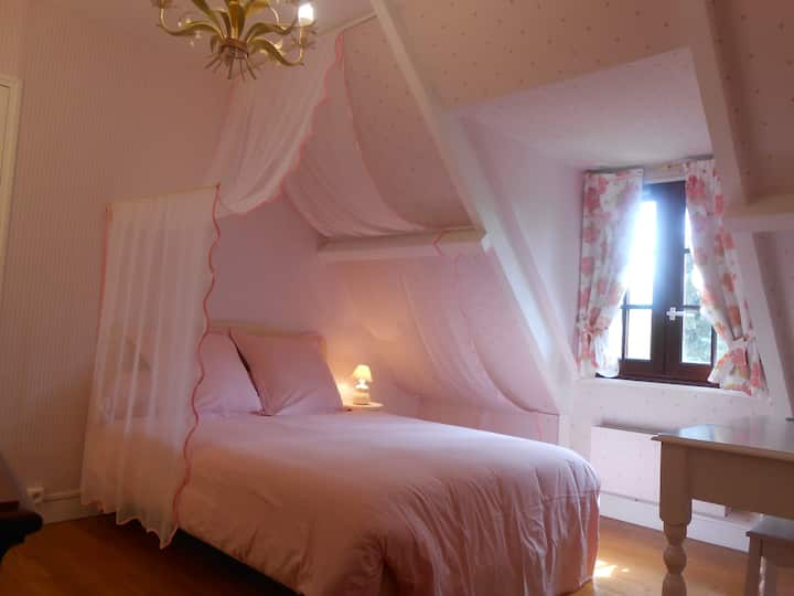 CHAMBRE ROSE / B&B CLOSE GIVERNY