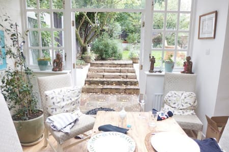 Stunning Flat with Private Garden