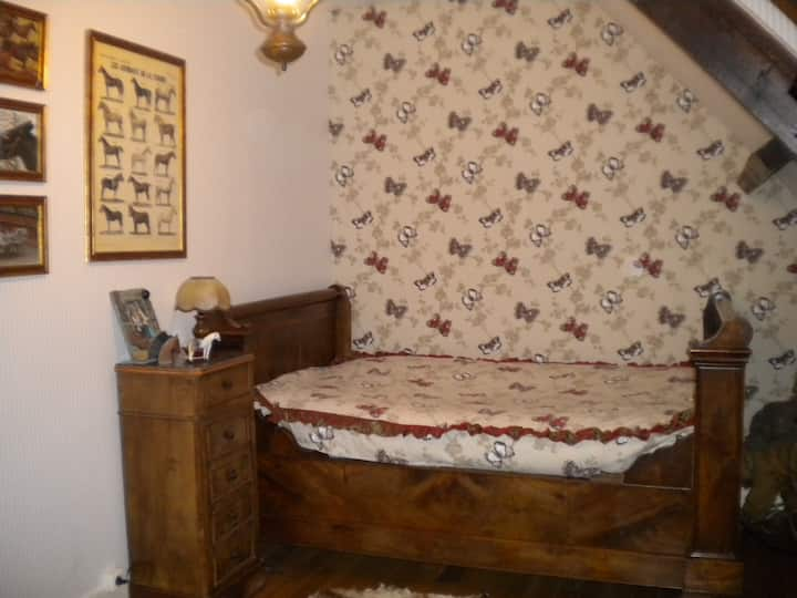 CHAMBRE PAPILLON  B&B CLOSE GIVERNY