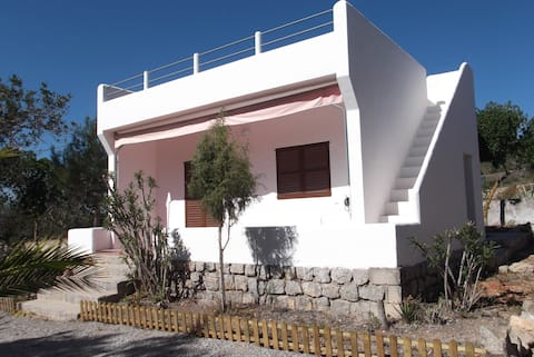 Countryhouse, roofterrace,close to beach
