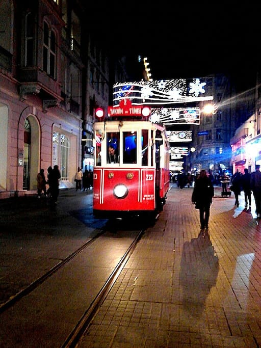 5 minutes walk to Istiklal Avenue