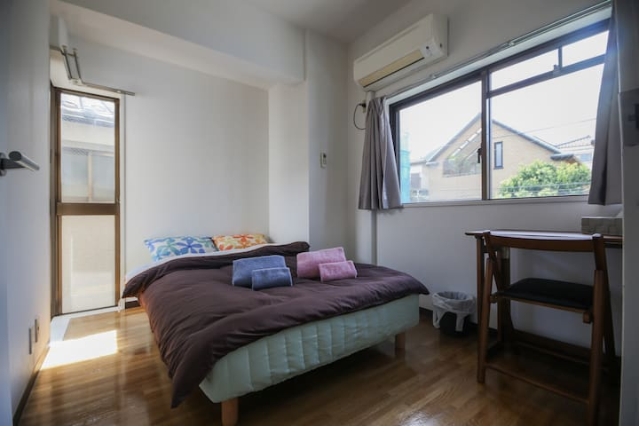 Super cozy room in Shibuya-Shinjyuku area