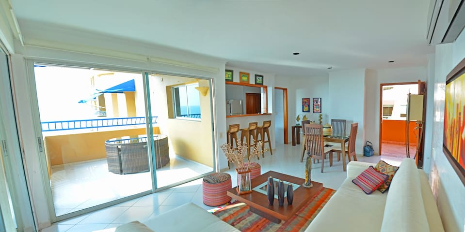 Apt in Cartagena, beautifull beach. - La Boquilla - Apartmen