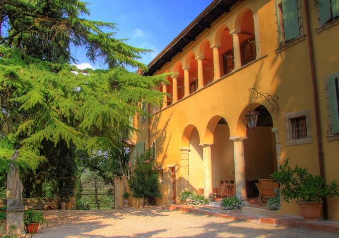 Enchanting Villa with Pool Wifi A/C - San Martino Buon Albergo - Villa