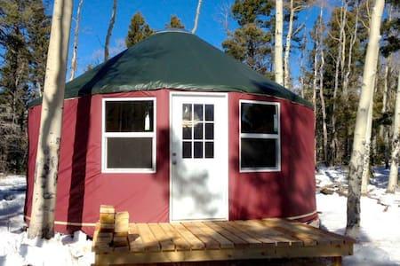 Long John Camping Yurt - Red River