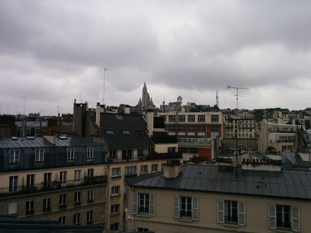 Charming flat, Montmartre view, perfect for couple - Paris - Wohnung