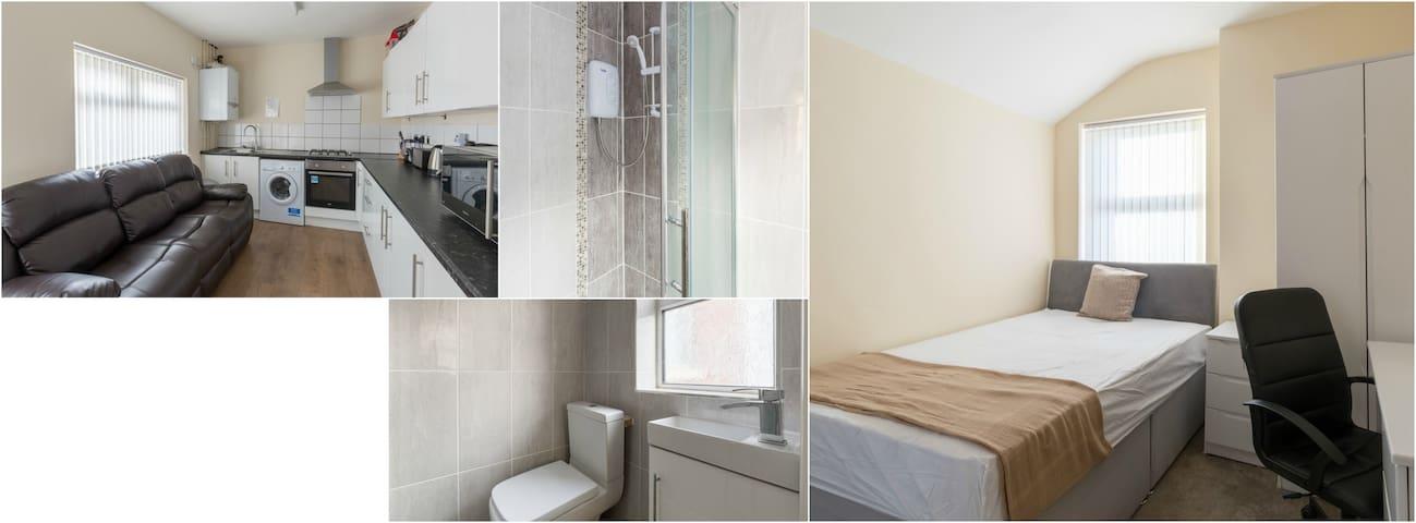 Birmingham Guest House 25, Flat 1 - Birmingham - Guesthouse