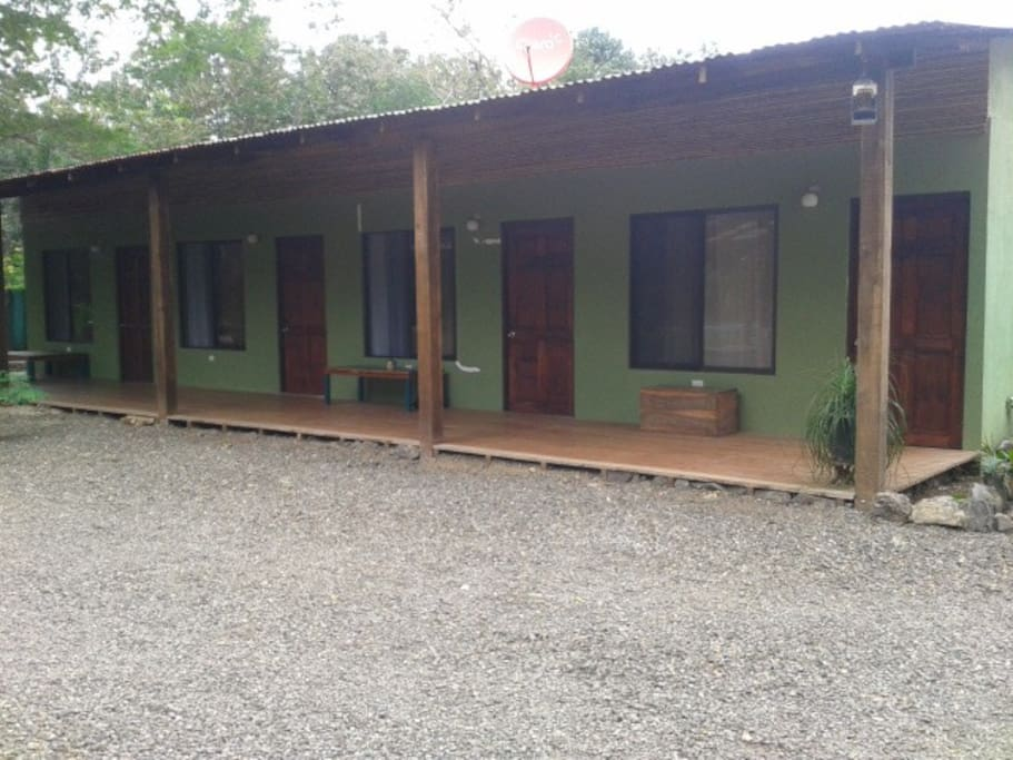 OUTSIDE VIEW OF ROOMS