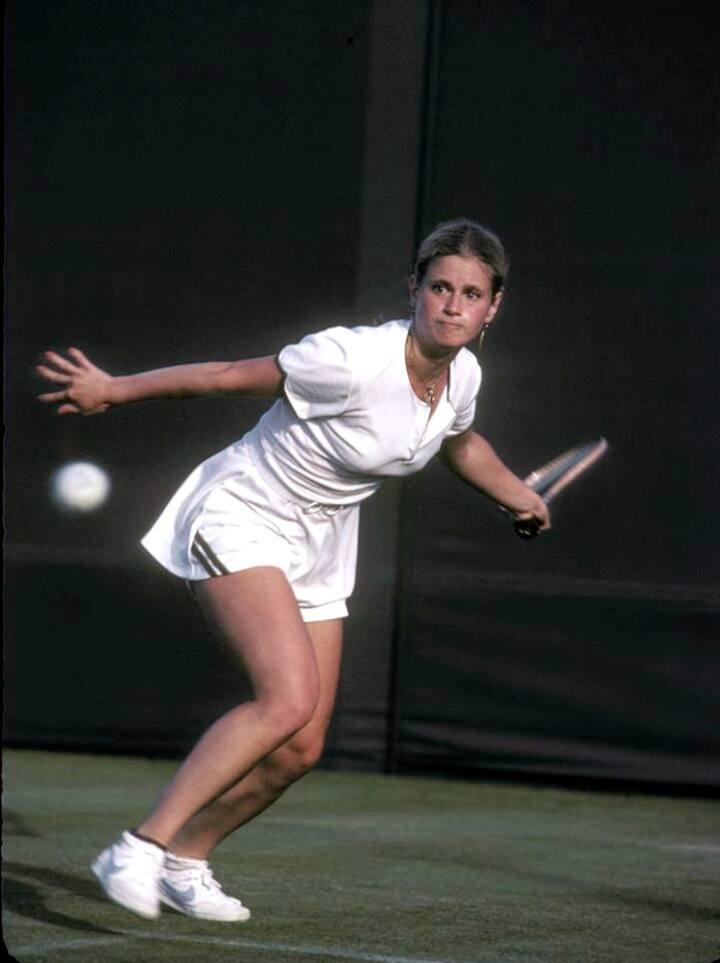 Playing at Wimbledon