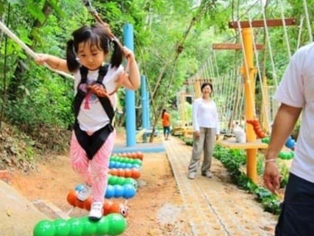 10min drive - Escape adventure zone for junior