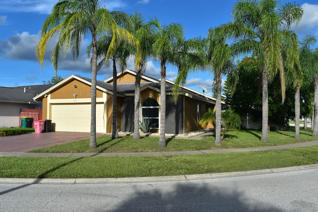 Disney Area 3 Bedroom 2 Bath Private Pool 5371 Houses For Rent In Kissimmee Florida United