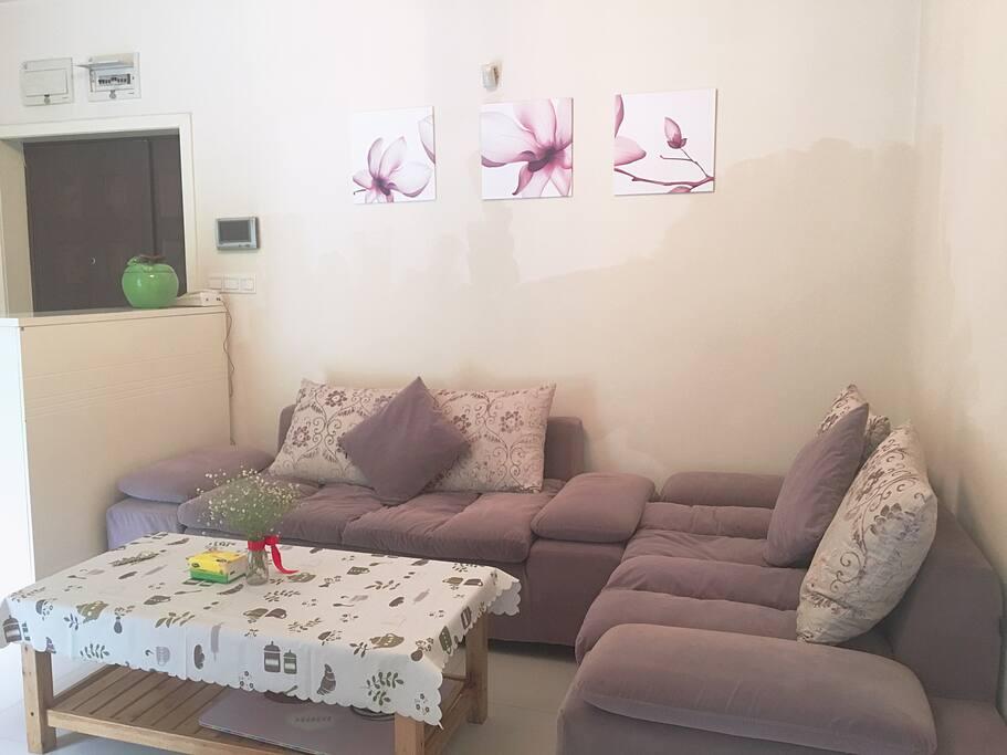 简约温馨的客厅