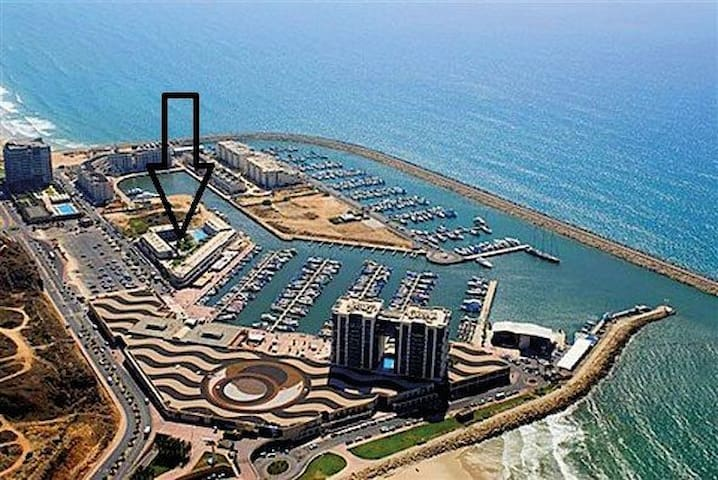 New Luxury 1BR in Herzliya Marina - Herzliyya - Byt