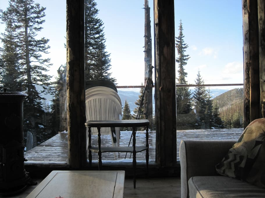 View from the sunroom.